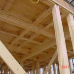 2階の床井桁工法